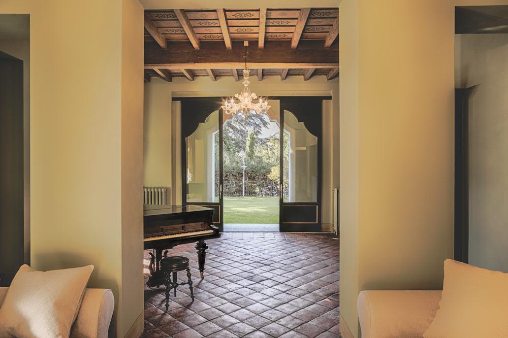 interiors villa sardagna