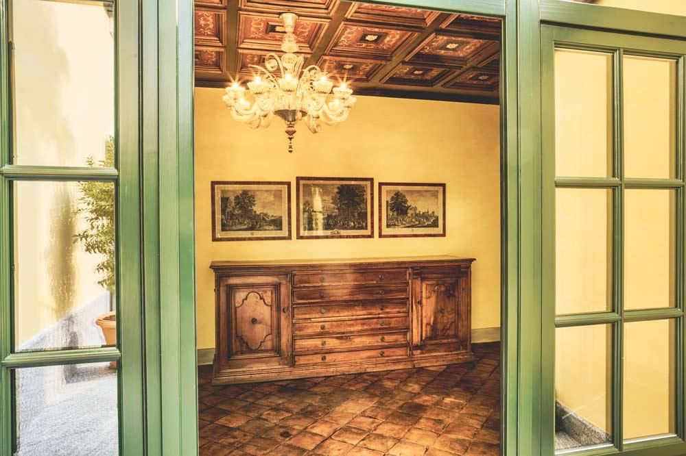 villa sardagna interiors